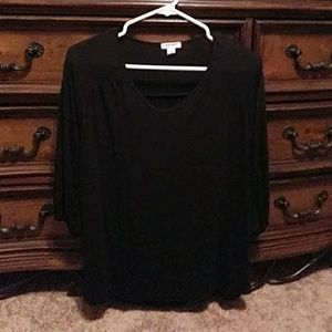 Old navy black dress top